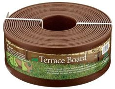 Edging and Borders 161008: Master Mark Plastics 95340 Terrace Board Foot Landscape Edging Coil 5 Inch,Brown -> BUY IT NOW ONLY: $35.54 on eBay!