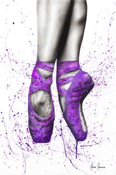 I created a charcoal and acrylics painting of ballet shoes on canvas. I love creating close up views as I enjoy the detail required in the charcoal sections. Ballerina Painting, Ballerina Art, Ballet Art, Ballet Dancers, Ballet Wallpaper, Shoes Wallpaper, Dance Photos, Dance Pictures, Ballet Drawings