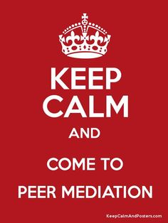 peer mediation posters - Google Search