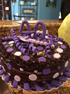 Alyssa's 40th Birthday Cake, Homemade, Desserts, Food, Tailgate Desserts, Deserts, Home Made, Birthday Cakes, Essen