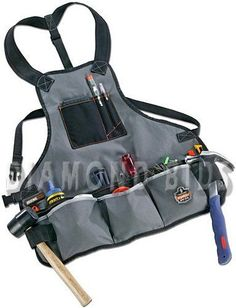 New Electrician Tool Bags Workwear Carpentry Carpenter Apron Work Utility Pouch Belt Storage, Tool Storage, Storage Systems, Tool Apron, Carpenter Tools, Tool Belt, Belt Pouch, Apron Pockets, Work Tools