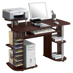 Found it at Wayfair - Computer Desk in Chocolate II