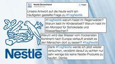 """Nestlé im #Shitstorm: """"Warum lasst Ihr Kinder verhungern?"""" #FragNestlé wird zum PR-Desaster"""
