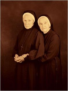 Sister Elise and Sister Mary Christabell: Episcopalian nuns, and best friends for over 30 years.