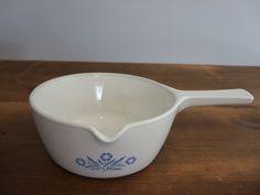 Vintage Corning Ware Cornflower Blue 2 1/2 Cup Saucepan by jessamyjay on Etsy