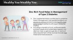 #Windiabetes shares #Tips on #ZincSupplementation #Oxidative stress #GlycemicControl #Type2Diabetes #DiabetesControl.