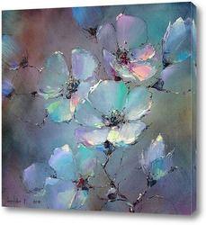 Flower Collage, Flower Art, Watercolor Flowers, Watercolor Art, Soft Pastel Art, Modern Canvas Art, Diy Art Projects, Arte Floral, Abstract Flowers