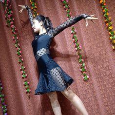 2017 NEW Latin Ballroom Dance Dress Salsa Modern Waltz Tango Dress #S9019