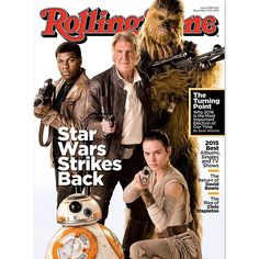 """Go behind the scenes of #StarWars #TheForceAwakens in our epic cover story - which you can read in full right now. Head to RollingStone.com and catch up…"""