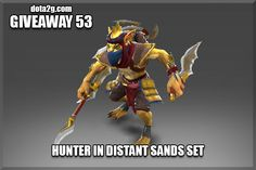 Giveaway 53 - Hunter in Distant Sands Set