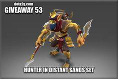 Giveaway 53 - Hunter in Distant Sands Set