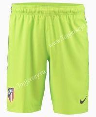 2016/17  Atlético Madrid Goalkeeper Green Thailand Soccer Shorts