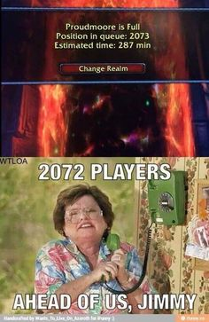 World of Warcraft • WoW • humor