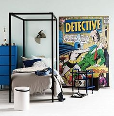 . . . . Batman! Amazing little boy's room as featured in Insidious Magazine's May issue?  Featuring a PICKAWALL wall mural this room is made for heroes in the making!   Styling by Miss Ness Tay. Photography by Sammcadam Cooper.   Credits: Mon Melbourne     Ikea Australia      Incy Interiors      Leo and Bella      Design Twins       Aura Home   #printyourpassion #wallpaper #muralbespoke #wallmural #likeitprintit #inspire#printyourpicture #pickawall #wallpaper#wallmurals #walldecor…