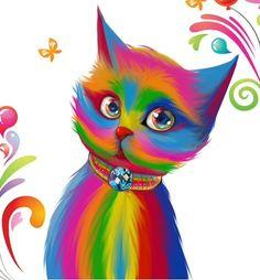 ♥の♥ Colorful kitty