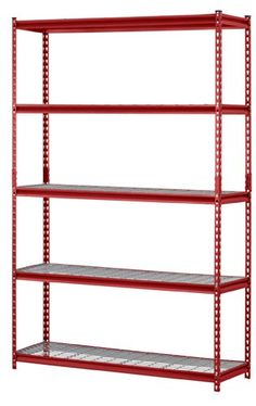 Schon Muscle Rack Steel Garage Storage Wire Shelving Unit   The Ultra Tough  Muscle Rack Steel Garage Storage Wire Shelving Unit Is Made Of  Industrial Grade Steel ...