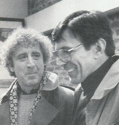 Leonard Nimoy and Gene Wilder