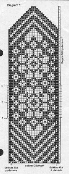 Musturi - Sarmīte Lagzdiņa - Picasa Web Albums more chart's Knitting Charts, Knitting Stitches, Knitting Designs, Knitting Patterns, Craft Patterns, Knitting Machine, Crochet Mittens Free Pattern, Knit Mittens, Knitting Socks