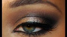 smoky eyes sur peau noir - YouTube