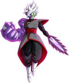 Dragon Ball Z, Dragon Ball Image, Goku Black Super Saiyan, Black Goku, Zamasu Fusion, Merged Zamasu, Super Trunks, Evil Goku, Zamasu Black