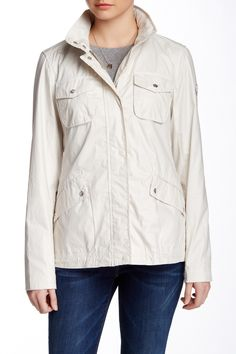 Classic Anorak by Vince Camuto on @nordstrom_rack
