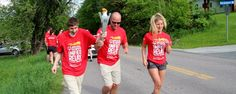 Special Olympics -- Olympian Hannah Teter carries Flame of Hope