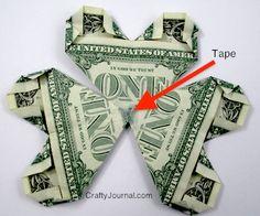 Dollar Bill Shamrock - Crafty Journal