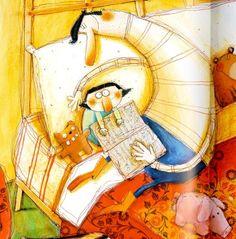 None night without story! / Ninguna noche sin cuento! (ilustración de Anna Laura Cantone)