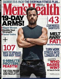 Male Fashion Trends: Justin Theroux por Patrik Giardino para Men's Health UK