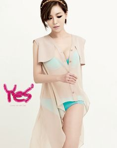 On May casual inner wear brand 'Yes' revealed Brown Eyed Girls member Ga-In's lovely and sexy lingerie pictorials.Ga-In showcased her gla… Pop Fashion, Winter Fashion, Womens Fashion, Sexy Bra, Sexy Lingerie, Ga In, Brown Eyed Girls, Tabu, Kelly Brook