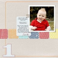 Here is a cool idea if you have an infant and it just had its first birthday and you took a lot of photos then this idea is for you.