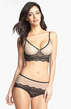 Only Hearts 'Whisper Sweet Nothings' Bra & Briefs  available at #Nordstrom
