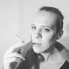 Looking divine, @stephanmorris10 , after a @ladylucktattooartist #contouring #makeup session! #capetownigers #artist #blackandwhite #photography #diva #inspiration #drag