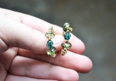 Gorgeous Green Gems by Amy Kirkner on Etsy