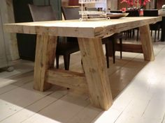 Tafel Milaan (Old Wood)