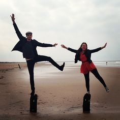 Tanya Burr and Jim Chapman😍 British Youtubers, Best Youtubers, Popular Youtubers, Funny People, People Like, Jim And Tanya, Jim Chapman, Tanya Burr, Miranda Sings