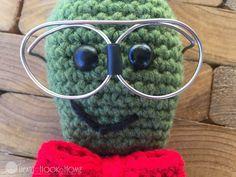 Nerdy Bookworm Crochet Pattern