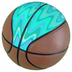 Turquoise Waves Basketball - tap/click to personalize and buy #Basketball  #turquoise #waves #turqouise #waves #tens Old Fashioned Games, Basketball Gifts, Team Pictures, Little Gifts, Timeless Design, Cool Gifts, Art For Sale, High Gloss, Kids Learning