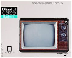 iPad mini case  Vintage old television by BlissfulCASE on Etsy, $29.99