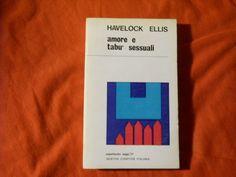 #sesso #tabu #libri #psicologia Libro AMORE E TABU' SESSUALI  Havelock Ellis