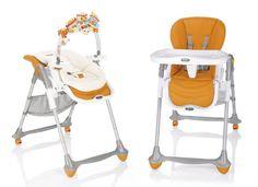 Ghế ăn bột có đồ chơi Brevi B.Fun Arancio (cam) BRE279-234