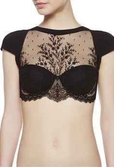 LA PERLA | Long-line bra #laperlalingerie #lingerie.
