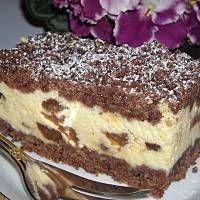 Sernik królewski Cheesecake Recipes, Relleno, Tiramisu, Pie, Ethnic Recipes, Food, Cupcake, Sour Cream, Dulce De Leche