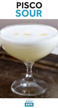 A Pisco Sour is typically finished with a dash of bitters atop the egg-white foam; Angostura bitters will work fine, though if you really want to aim for authenticity (and flavor), track down some Peruvian Amargo bitters.