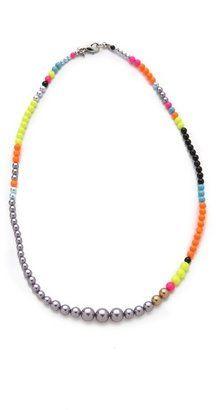 Tom binns Cuckoo Pearls Necklace Tom Binns