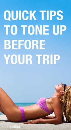 Get bikini ready for your vacation with these quick tips!
