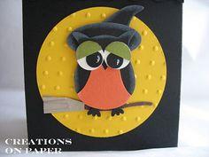 Halloween Owl - Witch