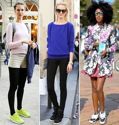 The sneakers        Fashion trend 2013. Speaking of sportswear, another practical yet chic option being celebrated at the LOULOU offices is the resurgence of trainers on trendsetters