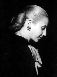 Maria Eva Duarte de Perón.
