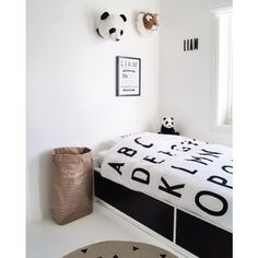 Love this idea! Frame your favorite quirks / qualities about your kids and hang them above their bed so they feel special every day.